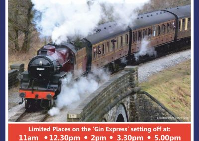 New for 2018 'Gin Express Experience'